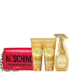 moschino fresh gold set
