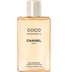coco mademoiselle foaming shower gel